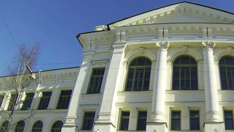Polytechnic University in St. Petersburg Stock Video Footage