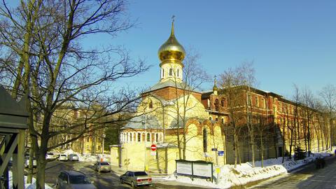 Polytechnic University in St. Petersburg Stock Video Footage