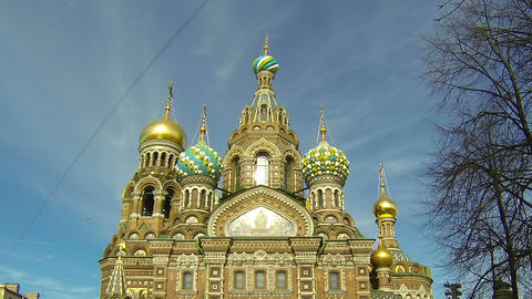 Church of the Savior on Blood in St. Petersburg Footage