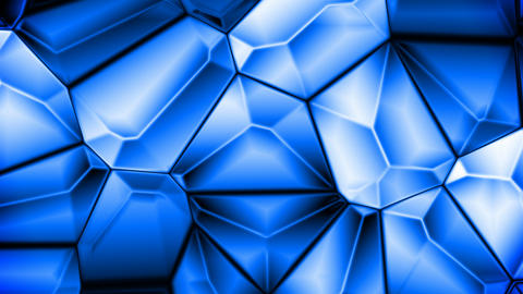 Blue crystals Animation