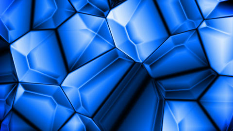 Blue crystals Stock Video Footage