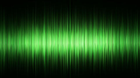 Green waveform Animation
