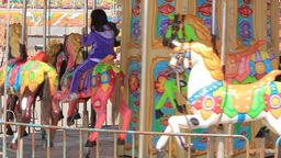 CARROUSEL stock footage
