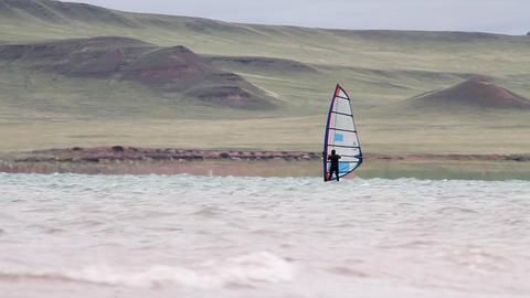 Windsurfing Stock Video Footage