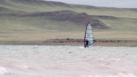 Windsurfing Stock Video Footage