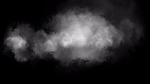 迫ってくる雲 Stock Video Footage