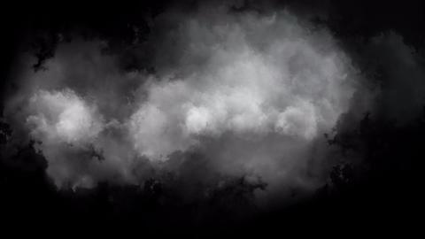 迫ってくる雲 Animation