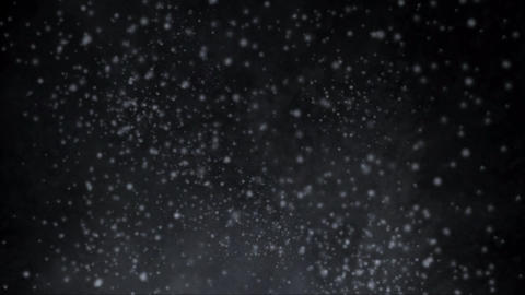 雪が迫って飛び散る Animation