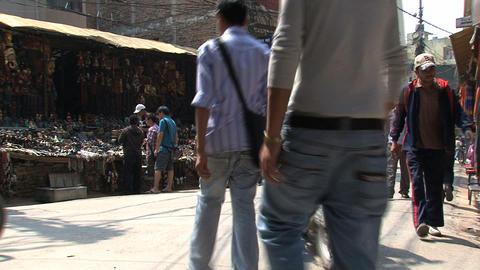Thamel market Stock Video Footage