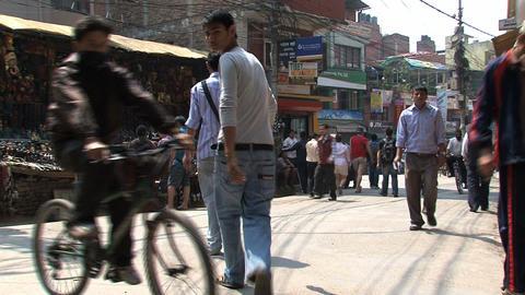 Thamel market Footage
