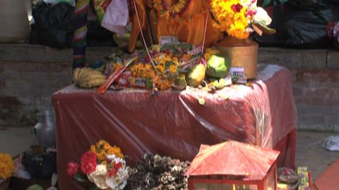 Offers is temple near Durbar Square Live Action
