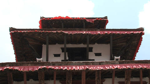 Rooftop temple Footage