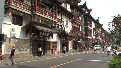 Yuyuan Garden pan Stock Video Footage