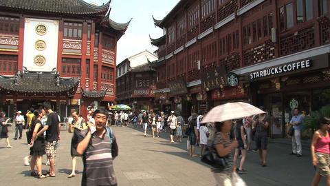 huxinting tea house pan Stock Video Footage