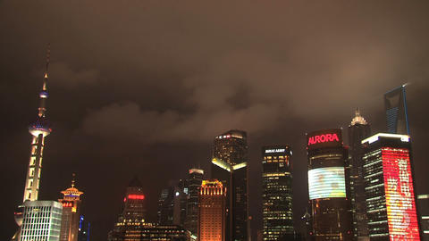 Shanghai Time Lapse stock footage
