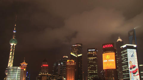 Shanghai time lapse Stock Video Footage