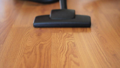 Vacuuming Laminate Flooring Footage