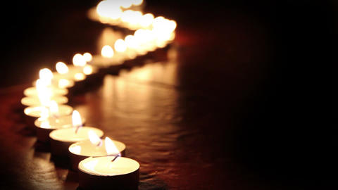 Candlelight Stock Video Footage