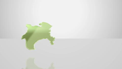 H Dmap b 14 kanagawa Stock Video Footage