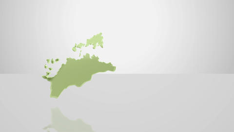 H Dmap b 37 kagawa Stock Video Footage