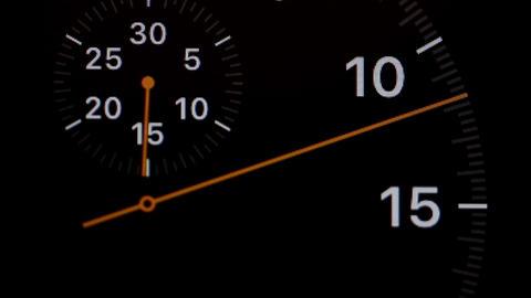 arrow running stopwatch Footage