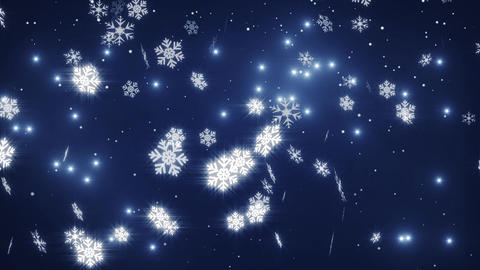 Falling snow Animation