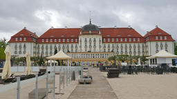 Grand Hotel in Sopot, Poland Footage