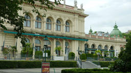 The Vienna Kursalon building in Stadtpark. Concert venues in the heart of Vienna Live Action