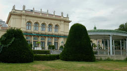 The Vienna Kursalon building in Stadtpark. Concert venues in the heart of Vienna Footage