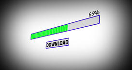 Internet download progress bar Animation