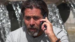 Unhappy Man Hearing Bad News Live Action