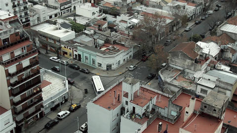 Neighborhood Of Buenos Aires from Above Filmmaterial