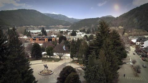 San Martin de Los Andes City Footage