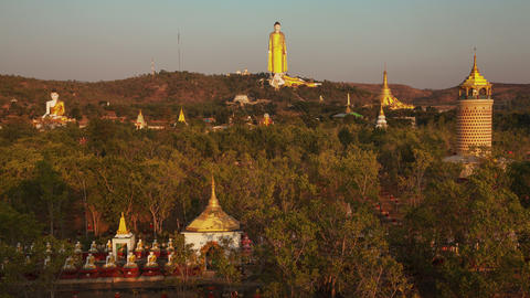 Big Golden Buddha Myanmar Animation