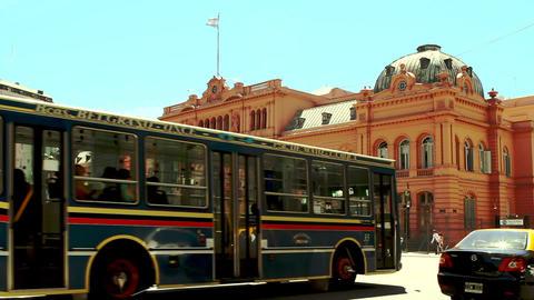 Casa Rosada in Buenos Aires Footage