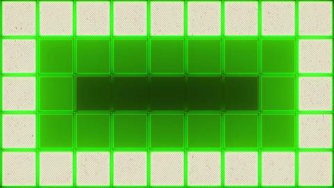 Retro Color Squares Background Animación