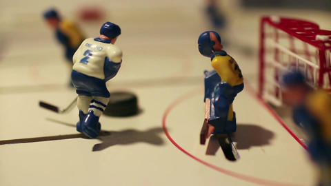 Hockey match sequence Footage