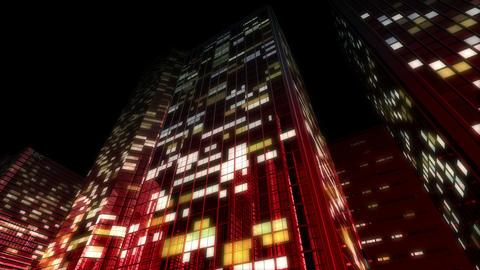 Skyscraper 2 Db2 night6 4k Animation
