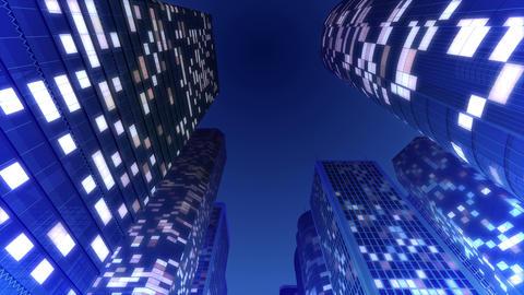 Skyscraper 2 Fb2 night3 4k Animation