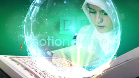 Read The Quran After Effectsテンプレート