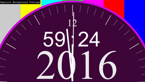 Happy New Year 2017 Countdown Timer Animation (AE Template) Animación