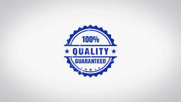 """""""Quality"""" 3D Animated Round Wooden Stamp Animation Animation"""