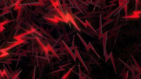 Zap (Thunder) Particles VJ Loop Animation