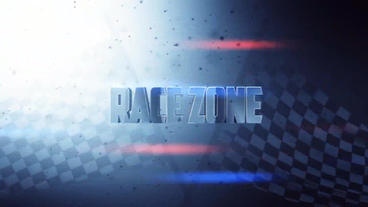 Race Zone - Title design After Effectsテンプレート