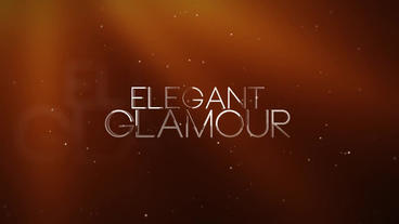 Elegant Glamour After Effects Template