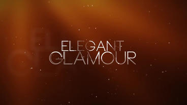 Elegant Glamour After Effects Project