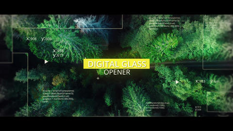 Digital Slideshow After Effects Template