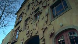 Dresden Neustadt, newtown in Saxony Germany Live Action