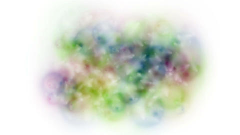 4k Abstract color bubble froth soap blister explosion background Footage