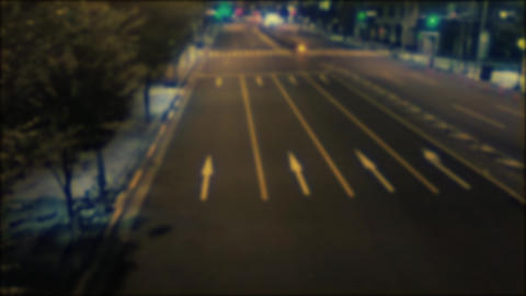 City lights,Blur nights Footage